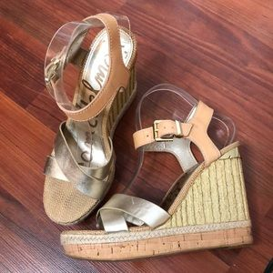 e2ce7bff1 Sam Edelman Shoes - Sam Edelman Clay Wedge Sandal
